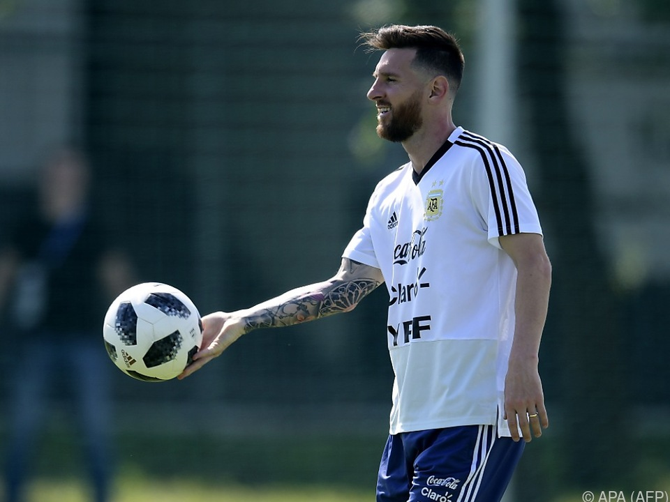 Lionel Messi ist bereit für den Vergleich mit Griezmann