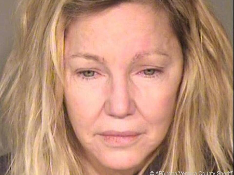 Polizeifoto von Heather Locklear