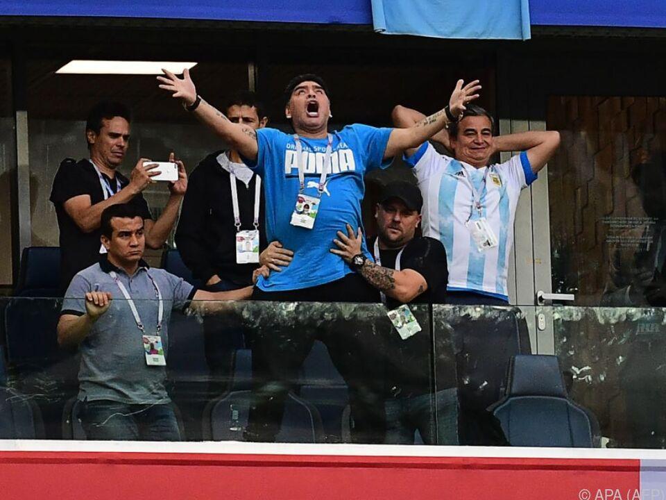 Maradona setzte eine hohe Belohnung für Hinweise aus