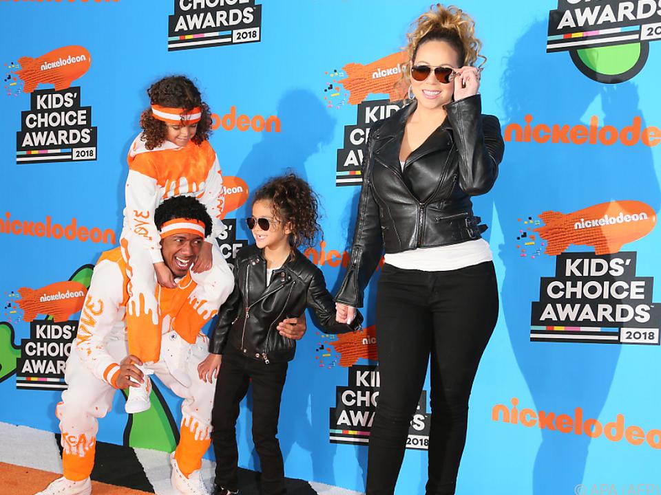 Mariah Carey hat ihre Kinder nicht immer im Griff