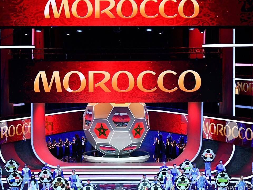 Marokko kandidiert gegen USA-Kanada-Mexiko