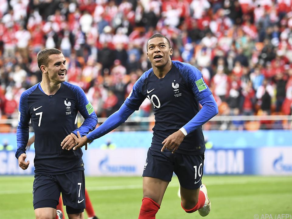 Mbappe erzielte den einzigen Treffer im Match