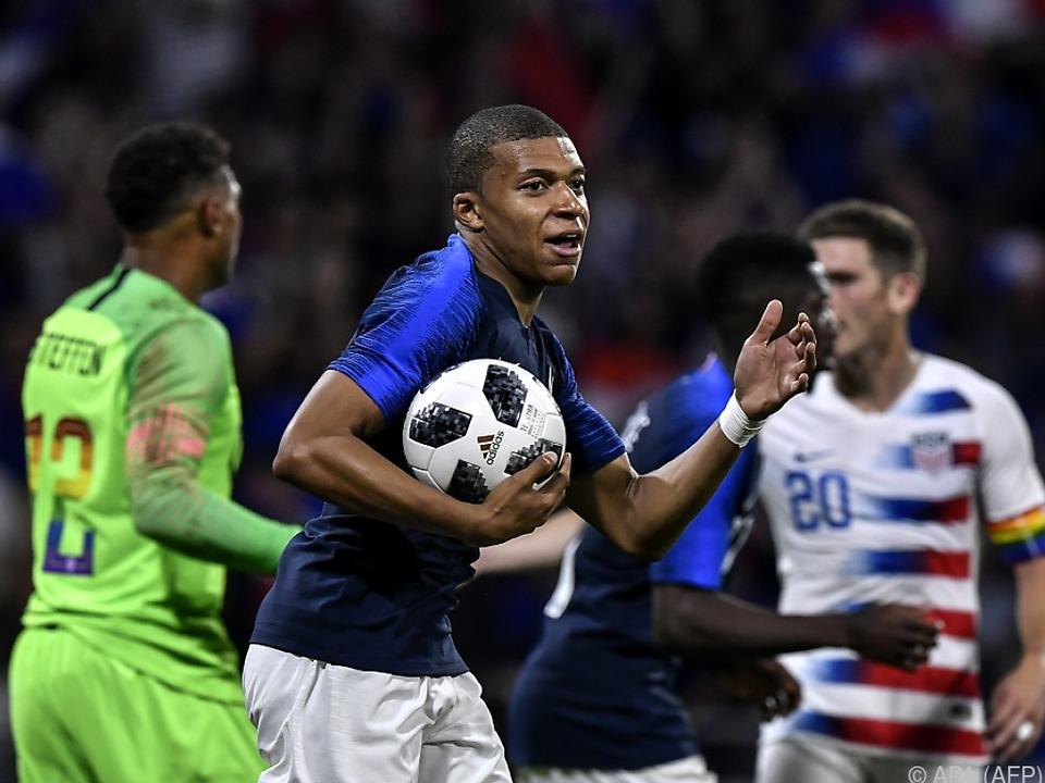 Mbappes Treffer bescherte Frankreich einen Punkt