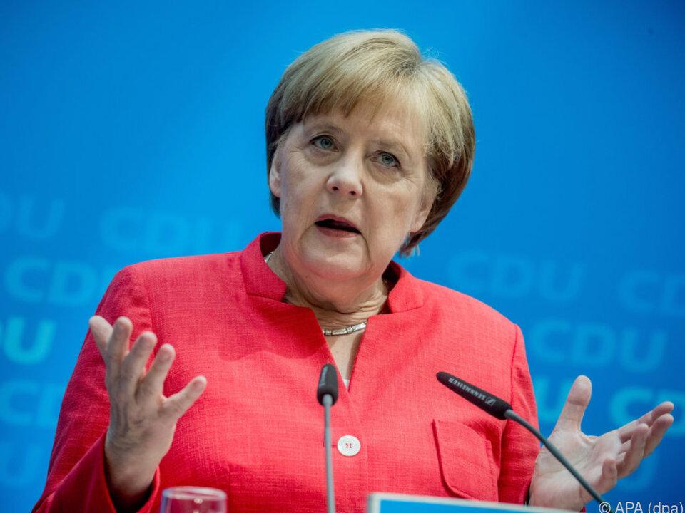 Merkel bekommt Zeit für eine Lösung