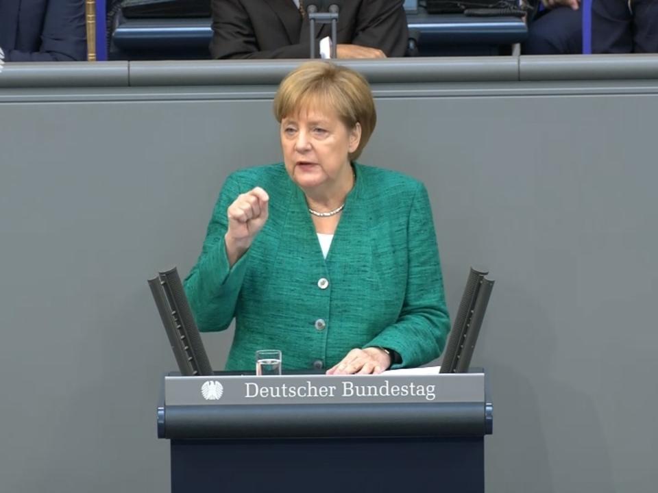Merkel sieht Migration als Schicksalsfrage für EU