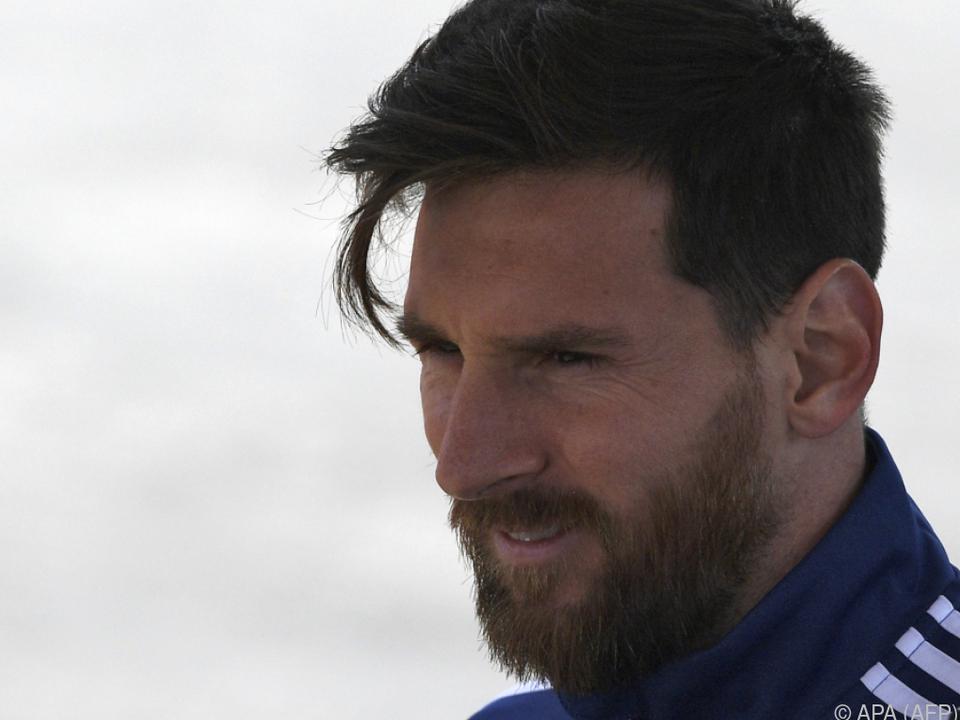 Messi ud die Argentinier bereits unter Druck