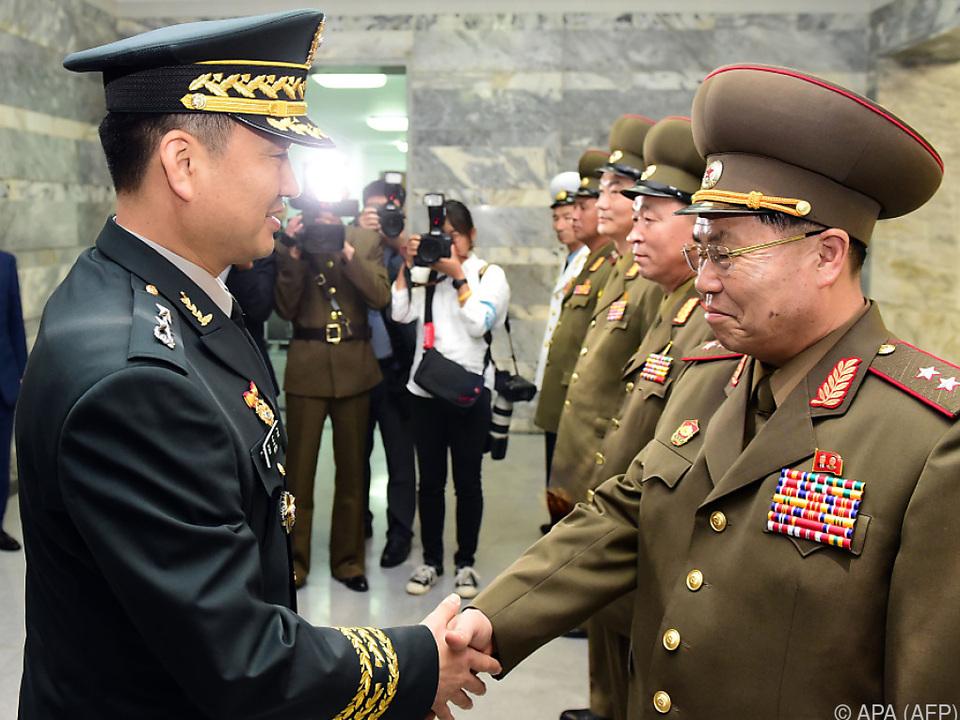 Militärische Entspannung zwischen Süd- und Nordkorea