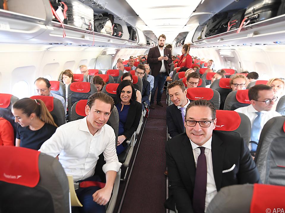 Minister auf Ausflug nach Brüssel