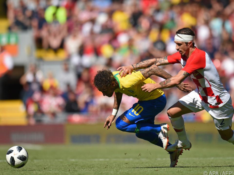 Mit Neymar wurde in Liverpool nicht zimperlich umgegangen