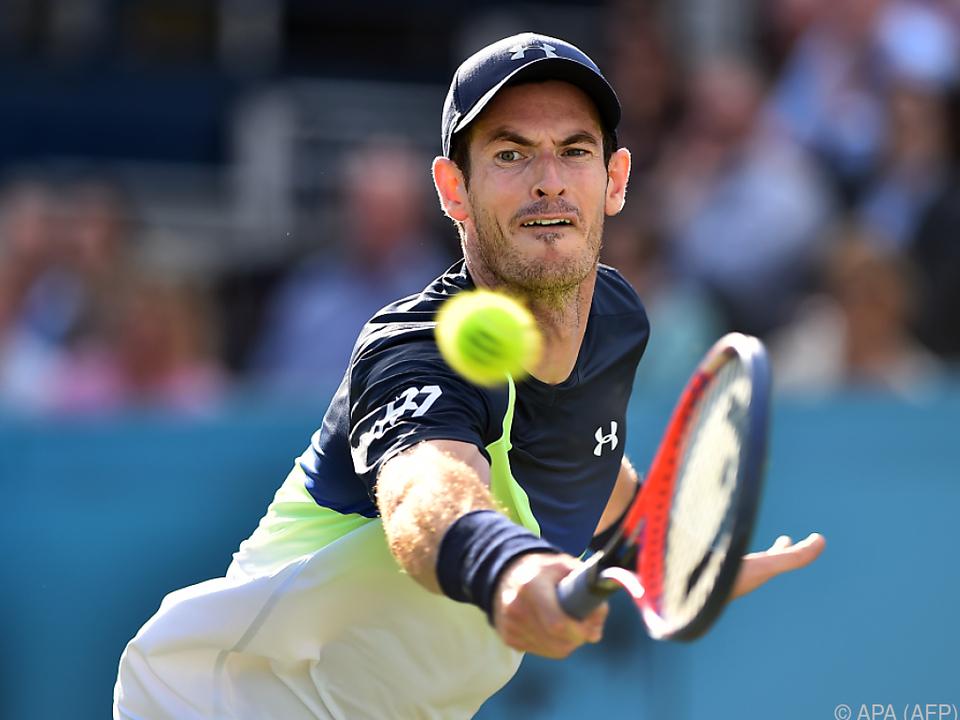 Murray zeigte eine ansprechende Leistung