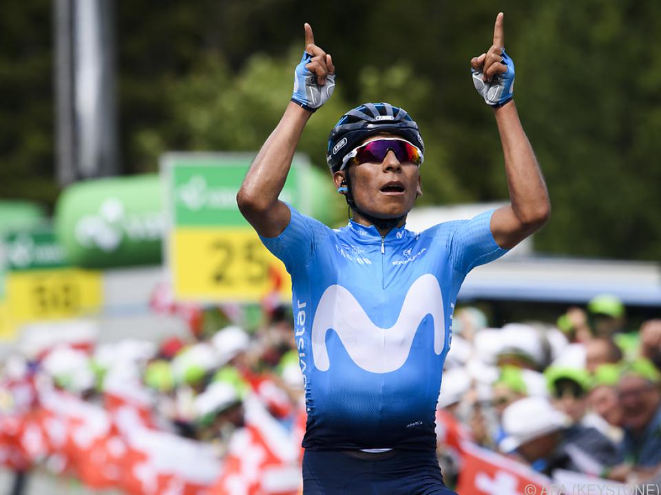 Nairo Quintana hängte die Konkurrenz ab