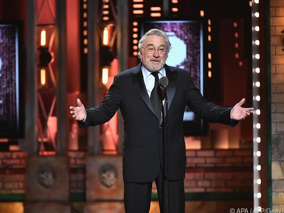 Nun fasste auch De Niro den Spott des Präsidenten aus