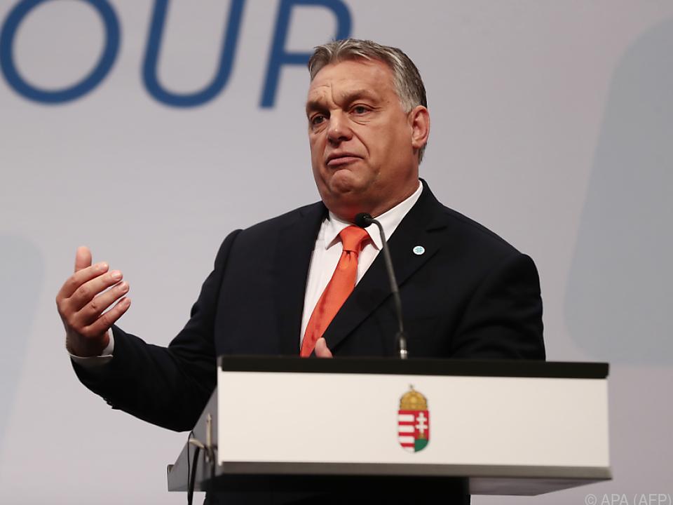 Orban sieht Österreich und Italien als Visegrad-Verbündete