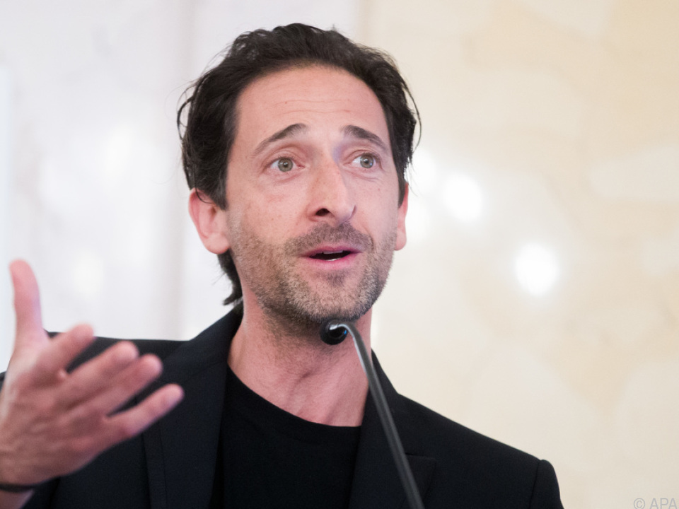 Oscarpreisträger Adrien Brody kommt heuer zum Life Ball