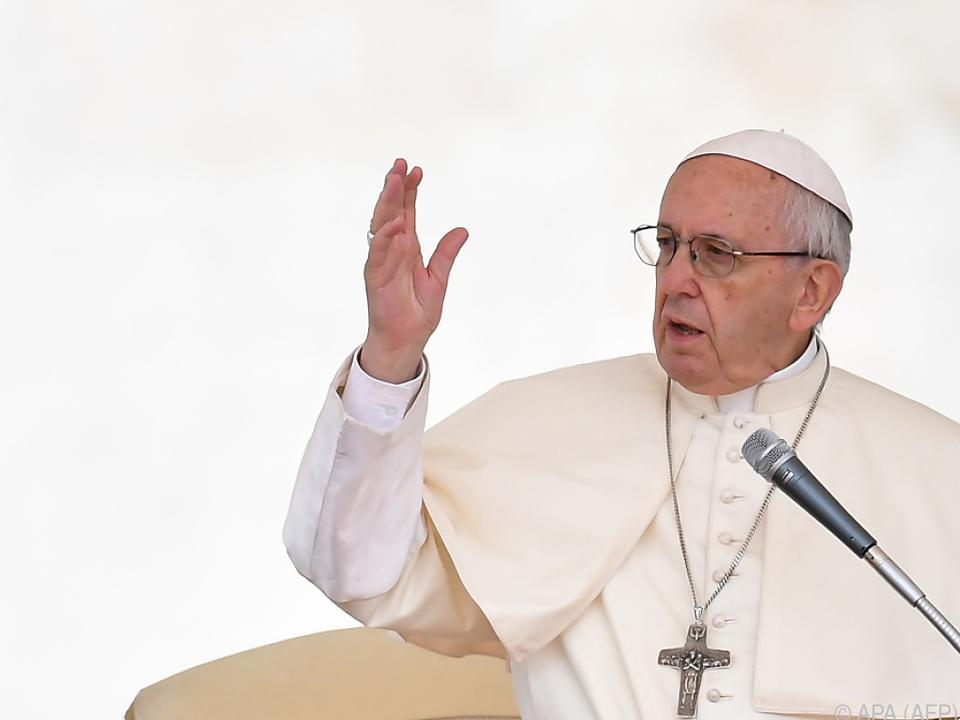 Papst Franziskus: Es geht \
