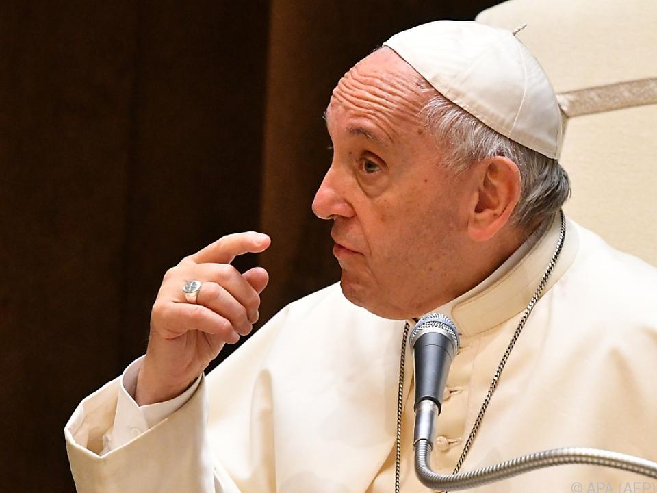 Papst Franziskus kämpft gegen globale Probleme