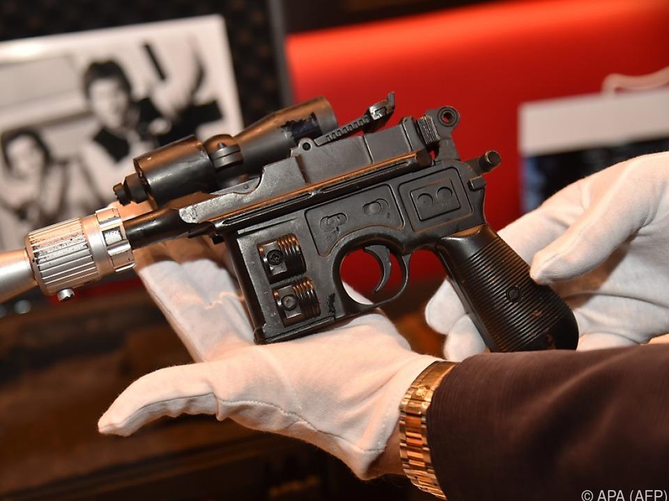 Pistole für Star-Wars-Fans ein echter Leckerbissen