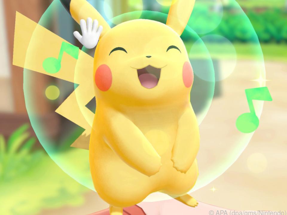 In der Pikachu-Edition ist der kleine gelbe Pokemon der Hauptdarsteller