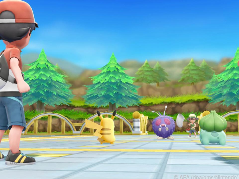 Spieler können die kleinen Wesen fangen, trainieren und in Duelle schicken