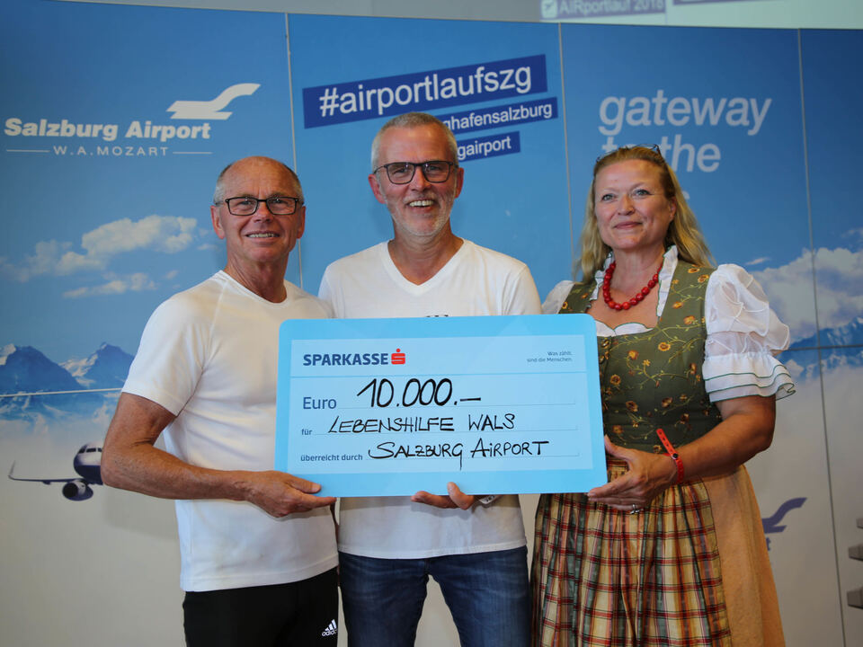 4. Airportlauf am Salzburger Flughafen