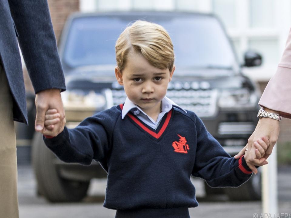 Prinz George als Zielscheibe