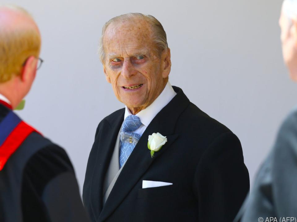 Prinz Philip bei der royalen Hochzeit