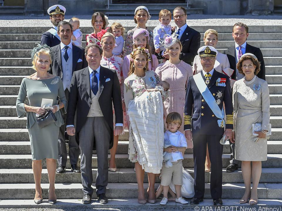 Stolze schwedische Royals
