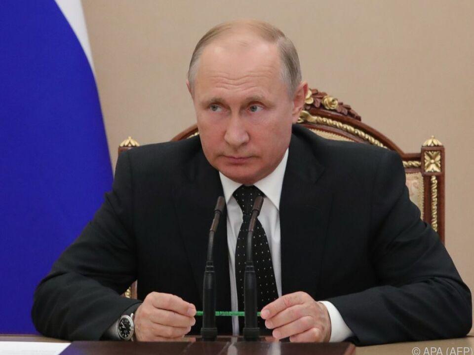 Putin sprach 52 Minuten lang mit dem ORF-\