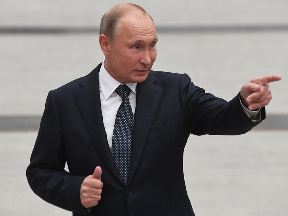 Putin sucht den Kontakt zu China