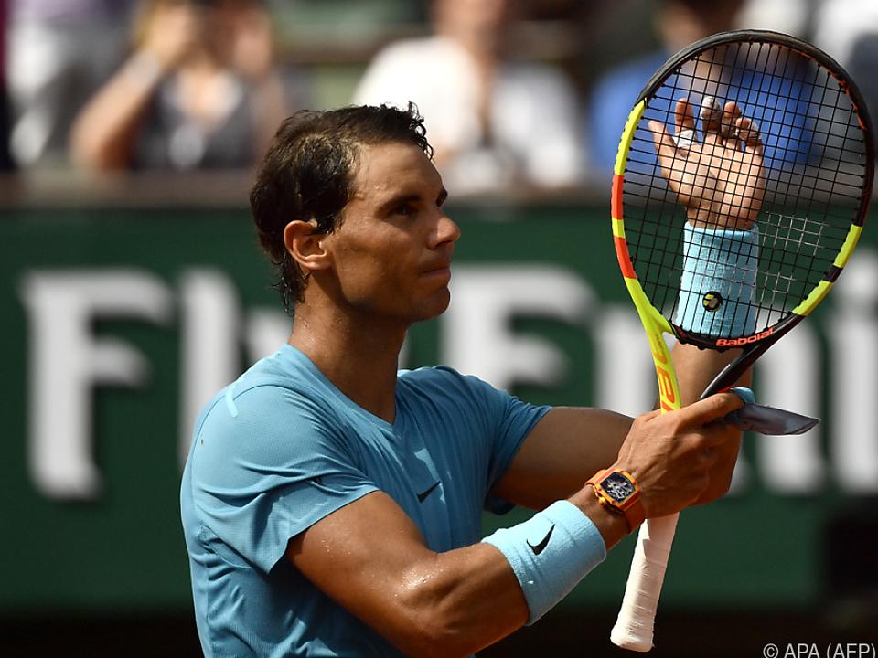 Rafael Nadal setzte sich gegen Richard Gasquet durch