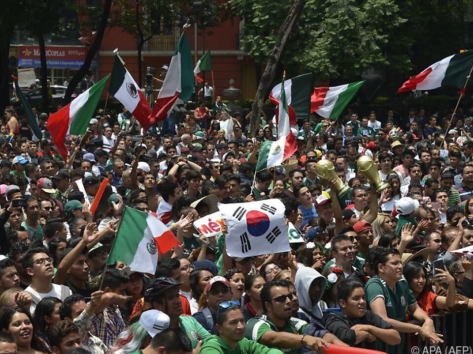Riesenjubel in Mexiko und Dank an Südkorea