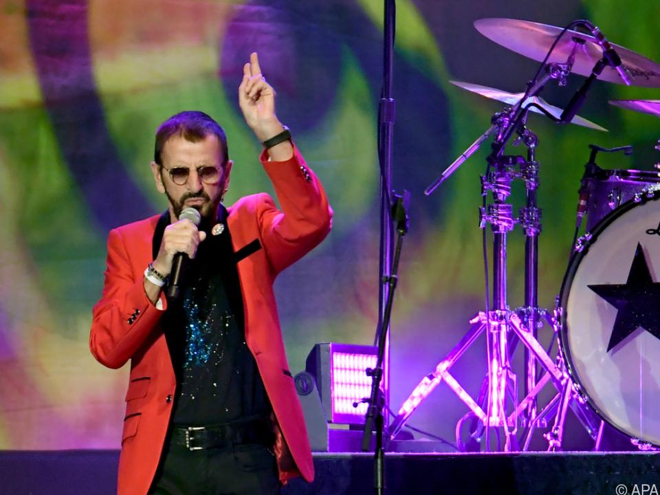 Nur selten stellte sich Ringo Starr in den Mittelpunkt