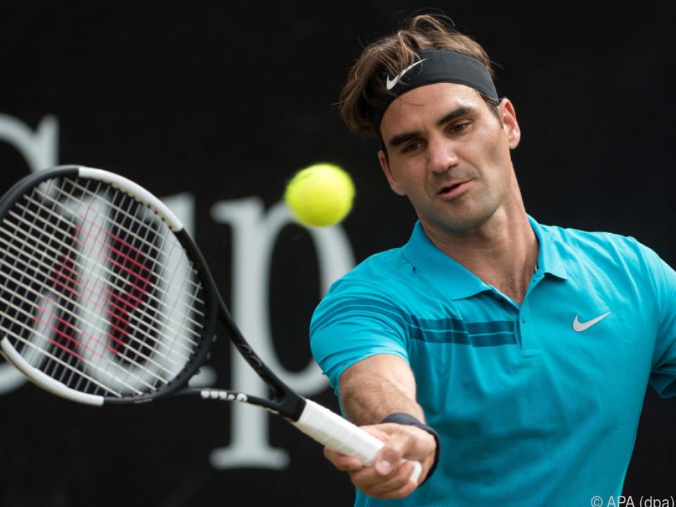 Roger Federer setzte sich gegen Nick Kyrgios durch