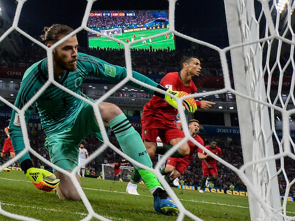 Ronaldo war beim hochklassigen 3:3 der Mann des Abends