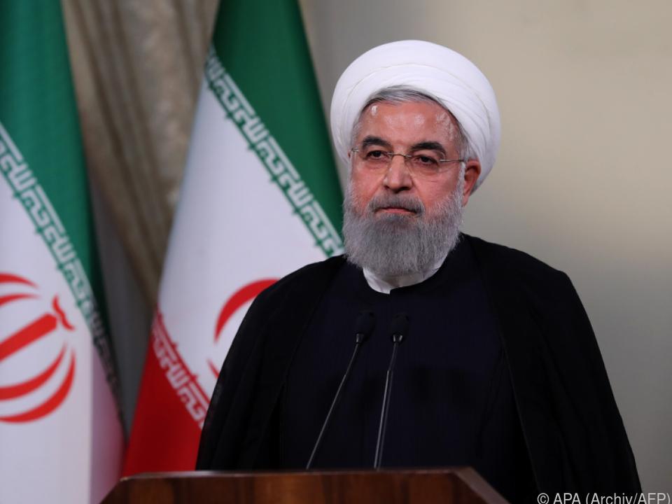 Rouhani gibt Österreich die Ehre