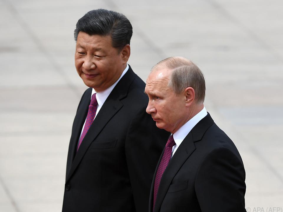 Russland nähert sich China spürbar an