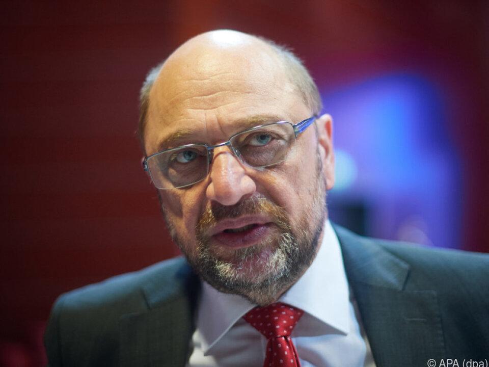 Schulz betont die Legitimität von Einwanderung