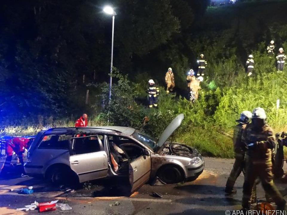 Schwerer Verkehrsunfall in Schladming