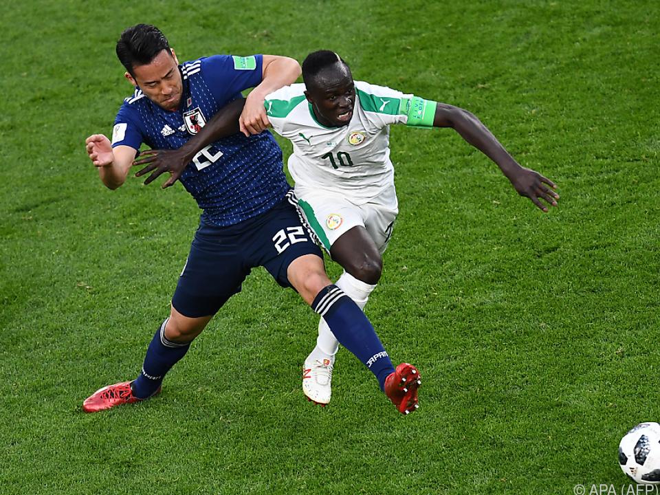Senegal und Japan lieferten sich einen harten Kampf
