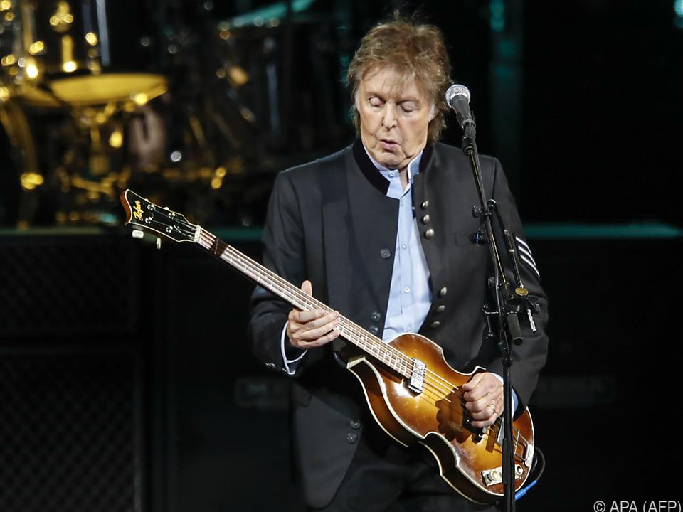 Sir Paul McCartney lässt wieder von sich hören