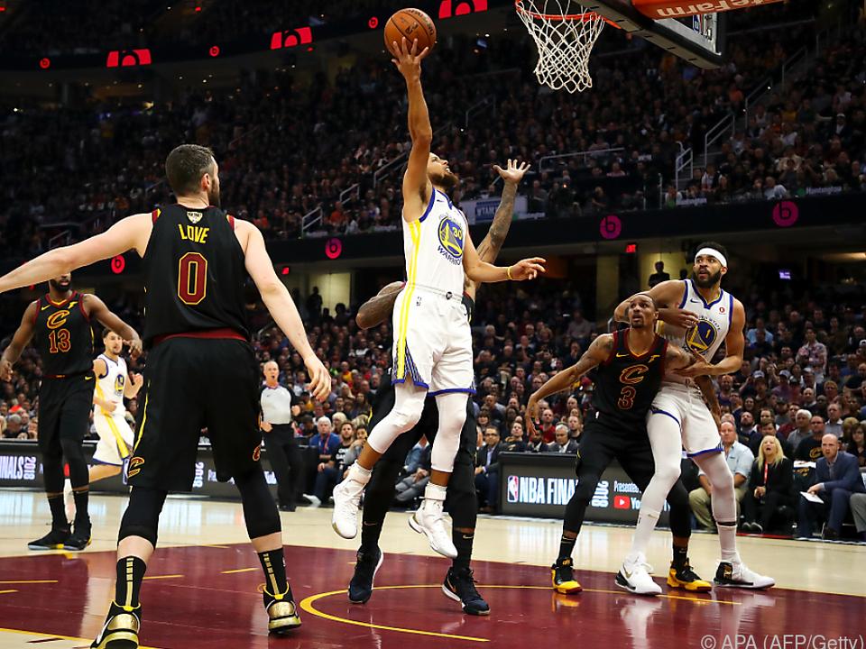 Stephen Curry erzielte 37 Punkte