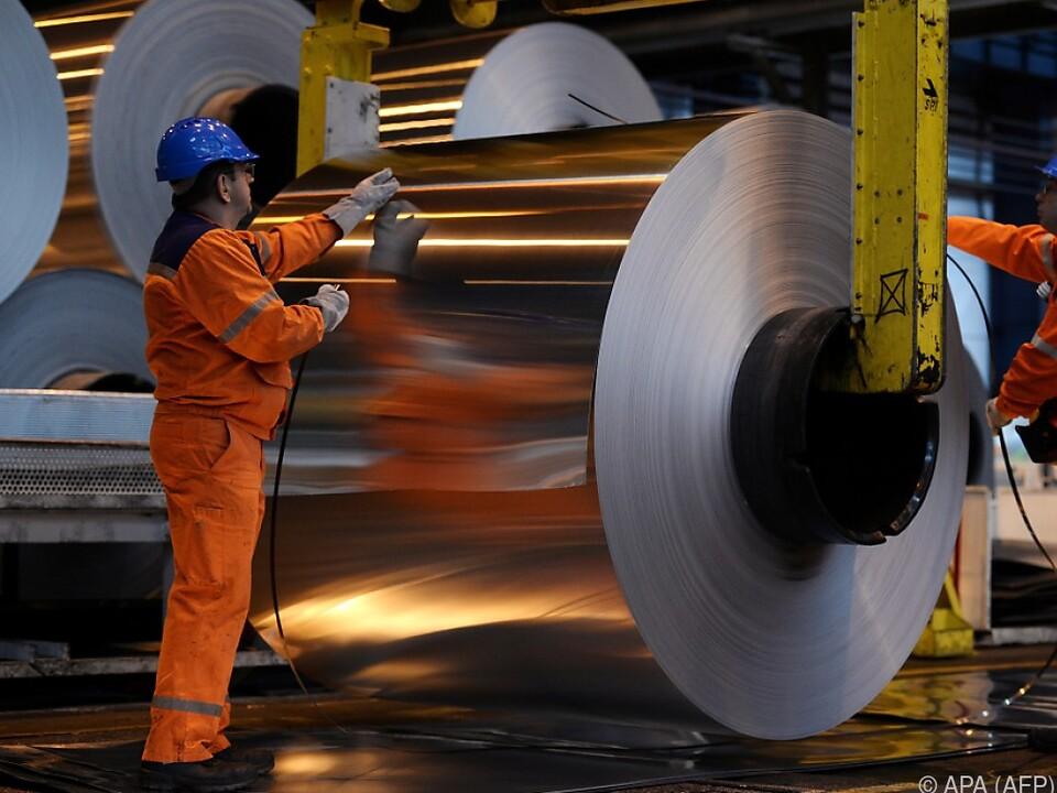 Streit um Stahl und Aluminium