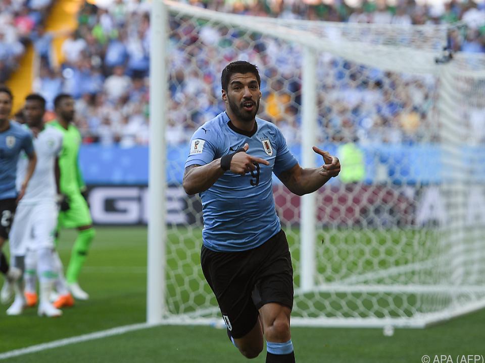 Suarez erzielte das Tor des Tages