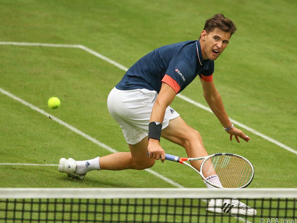 Thiem bereitet sich intensiv auf Wimbledon vor