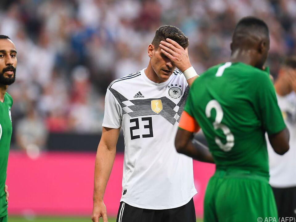 Titelverteidiger Deutschland wirkt derzeit wenig souverän