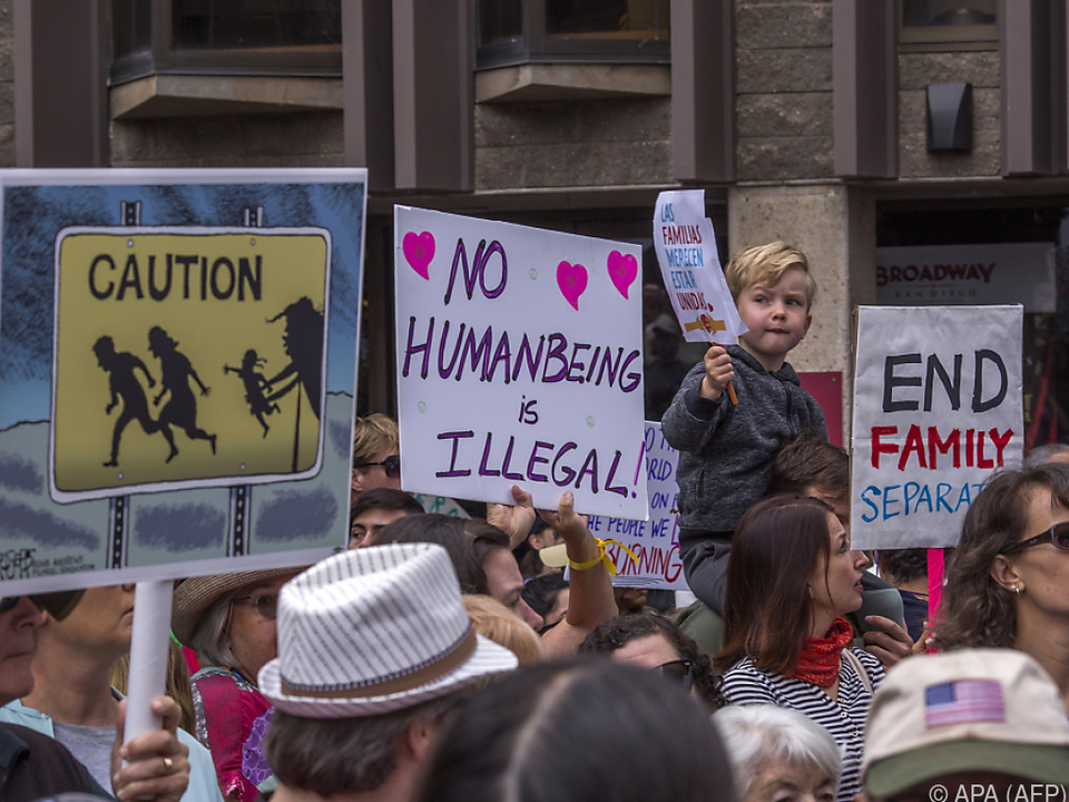 Trumps Flüchtlingspolitik sorgt weltweit für Entrüstung