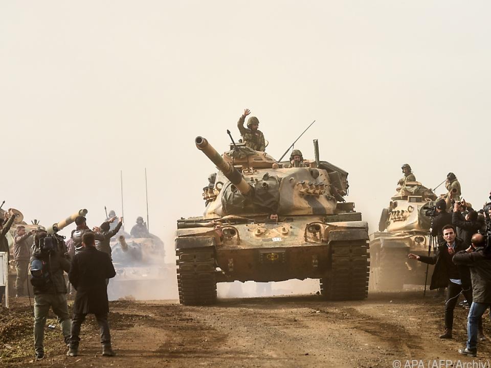 Türkische Truppen operieren derzeit im Nordirak