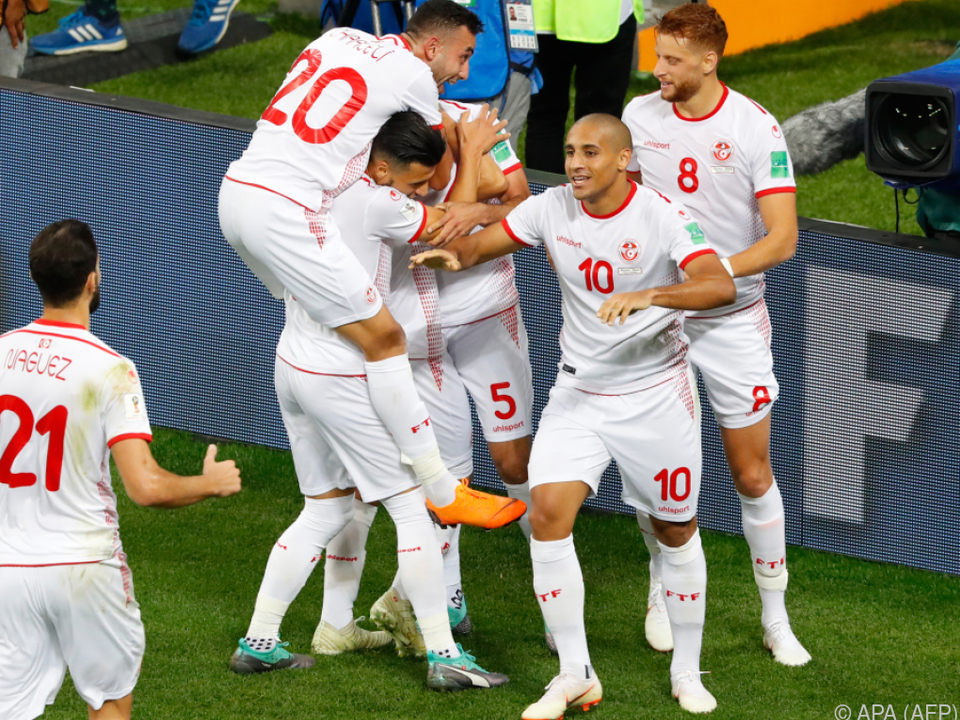 Tunesien feierte ersten Sieg bei der WM