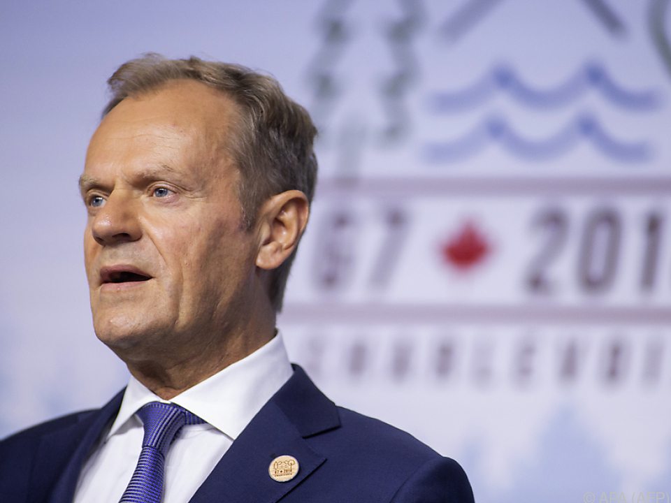 Tusk sieht Flüchtlingskrise als Hauptagenda des EU-Gipfels