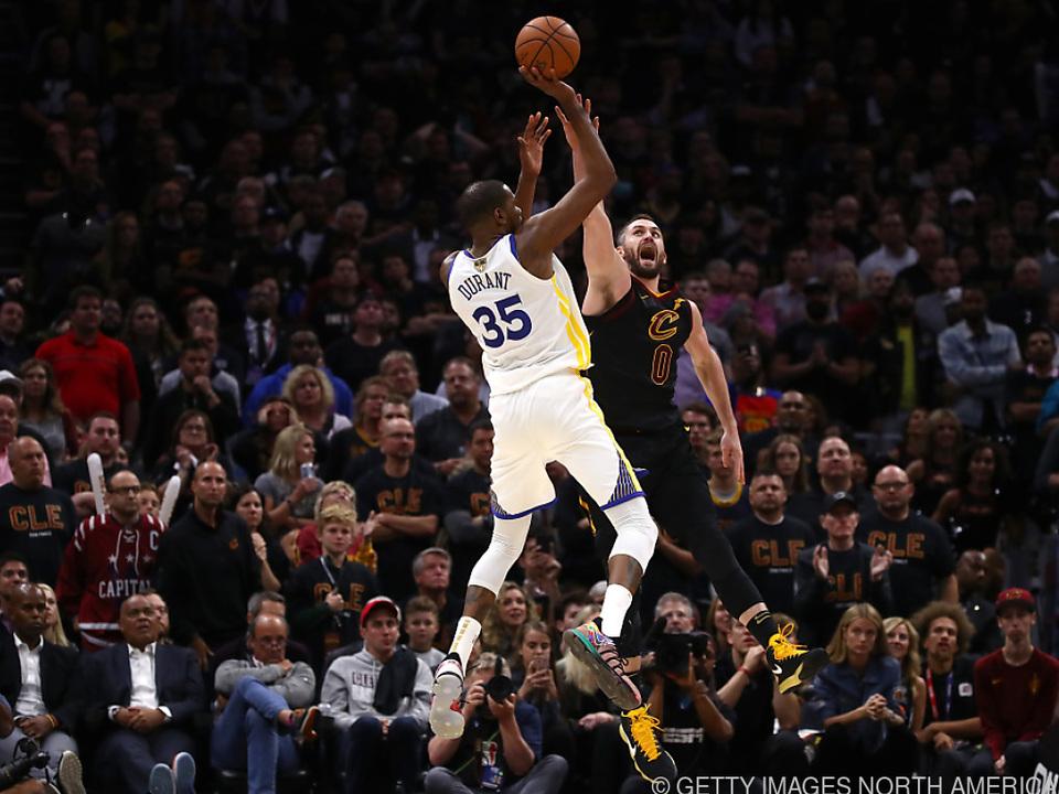 Überragender Kevin Durant mit 43 Punkten und 13 Rebounds